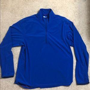 Royal Blue Gap 3/4 sleeve pullover men's  XL
